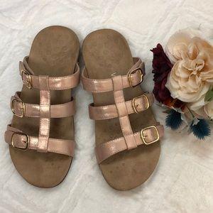 Vionic adjustable slide Sandals  10W